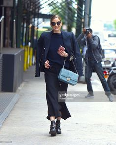 Olivia Palermo seen out in Manhattan on May 26, 2017 in New York City.