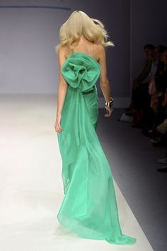 Agnete Hegelund at Enrico Coveri S/S 2011.