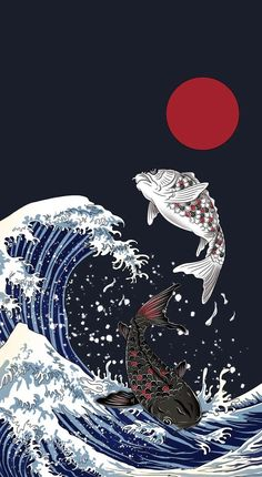 Anime Scenery Wallpaper, Japanese Artwork, Anime Wallpaper Live, Japanese Wallpaper Iphone, Samurai Wallpaper, Japanese Pop Art, Anime Wallpaper, Art Wallpaper, Edgy Wallpaper