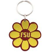 Florida State Seminoles (FSU) Daisy Keychain - Garnet/Gold