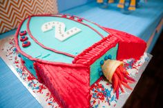 Rockets and Robots Space Party Cake