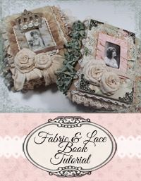 Learn how to make your own fabric book!