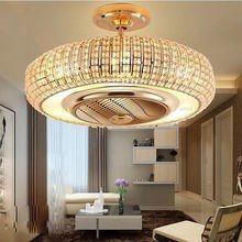 Online Shop Europaische Moderne Led E14 8 Unsichtbare Decke Versenkbare Fans Mit Licht Wohnz Deckenventilator Deckengestaltung Wohnzimmer Kronleuchter Modern