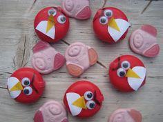 babybel angry birds, traktatie school! ( wel verrekte duur bedenk ik mij opeens)