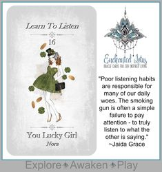 Enchanted Lotus - 45 Oracle Cards for Zen Inspired Living Page Printed Book (plus a bonus 124 page Ebook! Lucky Girl, Oracle Cards, Decks, Enchanted, Tarot, Lotus, Zen, Inspirational, Handmade Gifts