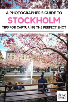 Practical photography tips for exploring Stockholm behind the lens of a camera. Where to find the best views in this photogenic Swedish city. | Slow Travel Stockholm Blog
