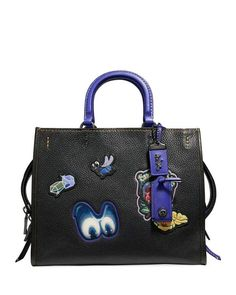 Coach 1941 DISNEY X COACH Snow White Rogue Patches Tote Bag
