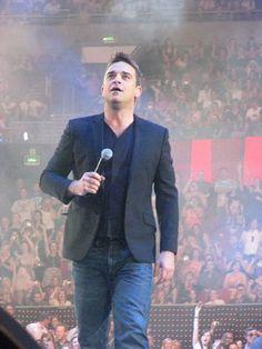 Robbie , it was amazing ,best concert ive ever been too.