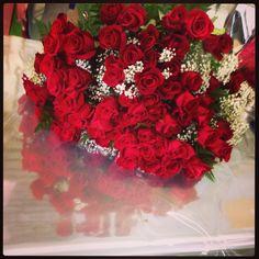 99 rose rosse