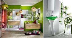 Decoração com verde.