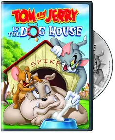 Tom and Jerry: In the Dog House (dvd_video) Tom And Jerry Cake, Tom And Jerry Cartoon, Old Cartoons, Classic Cartoons, Comedy Duos, Disney Toms, Autism Activities, Cat Mouse, Comic Book Characters