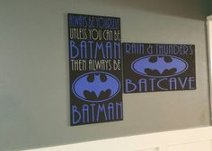 A personal favorite from my Etsy shop https://www.etsy.com/listing/251845085/super-hero-set-of-2-always-be-yourself