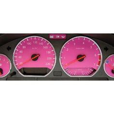 """Tachoscheiben """"Pink"""" für BMW - Anzeigewerte: 260 km/h… Pink Camaro, Pink Bmw, Pink Jeep, Bmw Accessories, Car Accessories For Girls, Rosa Bmw, My Dream Car, Dream Cars, 3 Bmw"""