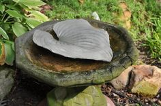 concrete leaves painting - WOW.com - Image Results