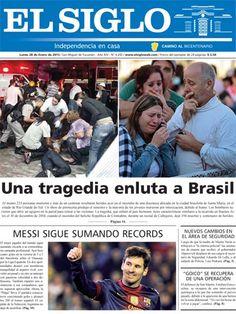 Diario El Siglo - Lunes 28 de Enero de 20 13
