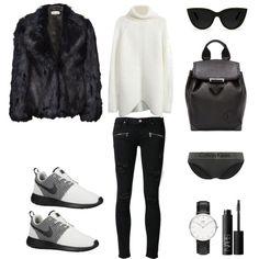 """Faux Fur"" by fashionlandscape on Polyvore"