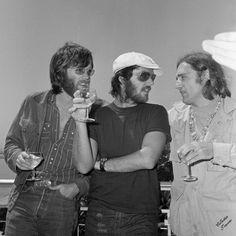 Peter Fonda, Jack Nicholson & Dennis Hopper 1969