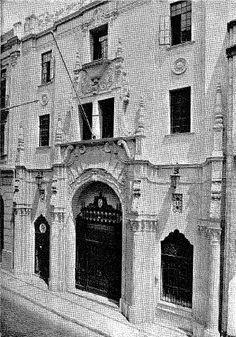 Exterior del edificio del Banco de la República en Cali 1930, construido en 1931. http://www.banrep.gov.co/documentos/publicaciones/regional/ESER/cali/2006_agosto.pdf