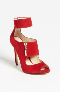 This is a hot red shoe!