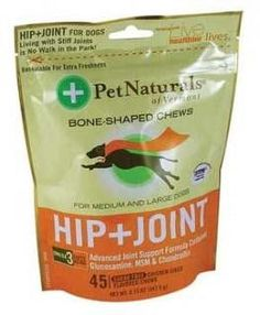 Pet Naturals of Vermont Softchews Hip & Joint for Large Dogs 6/8.73 oz