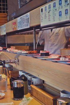 Mochi-Mochi: Kaiten sushi à Akihabara