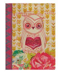 Look what I found on #zulily! Love Owl Personal Journal #zulilyfinds