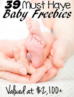 39 Amazing Baby Freebies worth more then $2,100 - These freebies are a MUST for moms no matter if it's your first kid or your 10th! Plus you can't beat free!