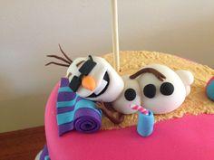 Olaf summer cake