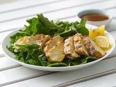 Chicken Breast Salad with Sesame Peanut Dressing