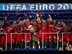 Portugal crowned Euro 2016 champions despite Ronaldo injury - The Economic Times Portugal Vs France, Portugal Euro 2016, Portugal Fc, Cristiano Ronaldo Real Madrid, France Euro, France Vs, Sir Alex Ferguson, Lifestyle Sports, Thing 1