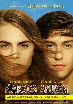 Start: 30. Juli 2015 * Die geheimnisvolle Margo ist für Quentin das begehrenswerteste Mädchen an seiner Schule. Für eine Nacht wird Quentins Traum wahr und die beiden ziehen um die Häuser. Am nächsten Tag ist Margo verschwunden. #thega #filmpalast