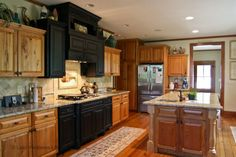 repurposed kitchen cabinnets   reclaimed wood cabinets in lake house kitchen Repurposed History Home ...