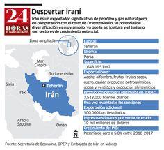 Irán pone a temblar a gigantes del petróleo, vía 24 Horas