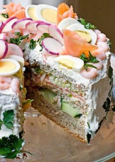 Top 10 Savoury Sandwich Cake Recipes