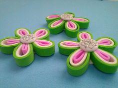 Flores para apliques artesanais passo a passo