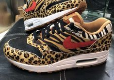detailed look 1568c cf270 New Look At The atmos x Nike Air Max 1 Animal Pack