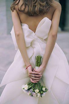 Tamuna Ingorokva wedding dress. Photo: Anastasia Paitchadze