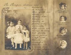 Scrapbook Layouts Family History, Scrapbook Layouts For Beginners and Pics of Imovie Scrapbook Templates. Album Vintage, Vintage Scrapbook, Family History Book, History Books, Album Photo, Photo Book, Heritage Scrapbook Pages, Look Vintage, Vintage Photos