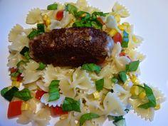 Edel's Mat & Vin : Ostefylte kjøttruller med pastasalat !