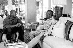 Photographer:  Damon Hyland Damon, Behind The Scenes, African