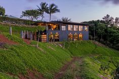 As Graham Hill, of TreeHugger and LifeEdited, discovered when he built a home in Hawaii, a green house can be more luxurious than a conventional one.
