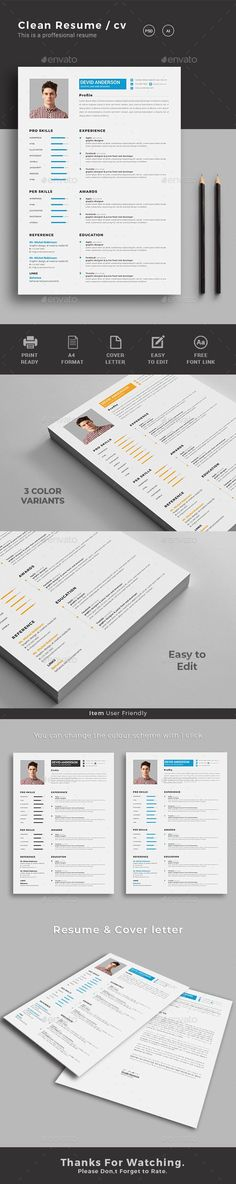 9 best CV images on Pinterest Resume design, Cv template and