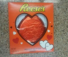 Collectable Mistake Reese's Peanut Butter Heart upside down only one known in Home & Garden, Food & Beverages, Candy, Gum & Chocolate   eBay