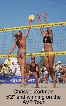 Winning at Volleyball without Height - strategy, offense, defense