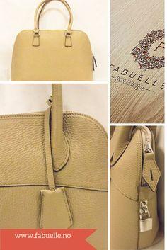 Nydelig italiensk skinnveske som finnes i 2 størrelser. www.fabuelle.no Louis Vuitton Damier, Pattern, Bags, Fashion, Handbags, Moda, Fashion Styles, Patterns, Model