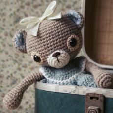 Doris the old-fashioned teddy bear