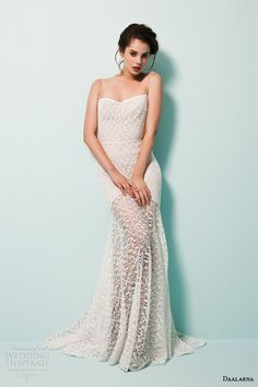 Sheath Wedding Dress : Daalarna Couture 2015 Wedding Dresses  Pearl Bridal Collection | Wedding Insp