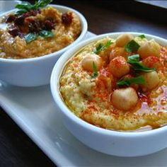 Arabic Food Recipes: Hummus Dip...Two Ways (Regular and Sundried Tomato) Recipe