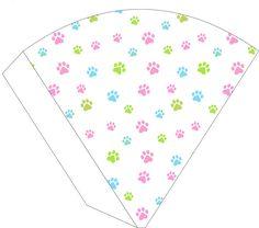 Paw Patrol for Girls: Free Printable Kit. Girl Paw Patrol Party, Sky Paw Patrol, Paw Patrol Birthday Girl, Puppy Birthday, Imprimibles Paw Patrol, Cumple Paw Patrol, Barbie Party, Puppy Party, Banner Printing