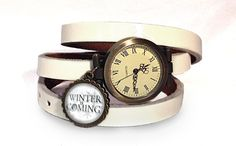 Leather watch bracelet - Game of thrones, 0733WW from EgginEgg by DaWanda.com